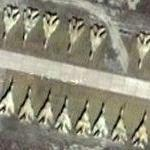 165 Fighters storage at Kizyl Arvat Air Force Base (Google Maps)