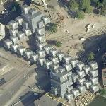 Cube houses (Google Maps)