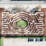 Copenhagen maze (Google Maps)