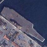 Soviet Aircraft Carrier 'Varyag' sold to China (Google Maps)