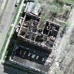 Burned appartment building (Google Maps)