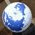World on the Berlin HiFlyer balloon