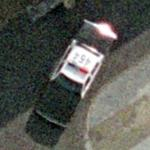 American police car in Germany (Google Maps)