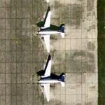 DC-3s at old Buckingham AFB (Google Maps)
