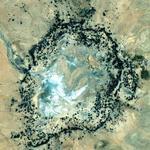 Mt. Toondina impact crater
