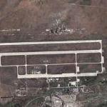 Lugovoe Air Force Base (Google Maps)