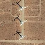 Huge Wind Turbines (Google Maps)