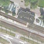 Railway Station Zevenaar (With Freight Train)