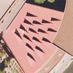 Art or skylights (Google Maps)