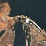 High dam on Han River (Google Maps)