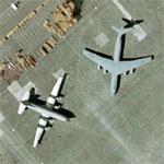 C-124C Globemaster and C-141B Starlifter