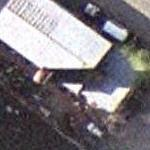 Car on a Smokestack (Google Maps)
