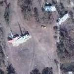 Destroyed Shrimp boats (Google Maps)