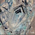 The richest diamond mine in the world (Google Maps)
