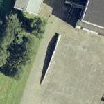 Wind turbine blade (Google Maps)