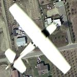 Airplane - Cessna (looking huge) (Google Maps)