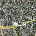 Flushing, NY (Google Maps)
