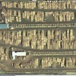 Loads of wood (Google Maps)