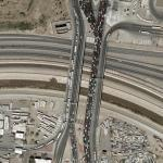 El Paso Border Crossing (US-Mexico) (Google Maps)