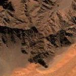 Namib desert mountain