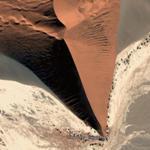 Sanddune in Namib Desert