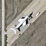 Air France 747 - Broken Up (Google Maps)