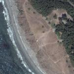 Paraglider at Fort Ebey (Google Maps)