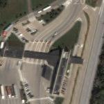 IH 89 Border Crossing (US-Canada) (Google Maps)
