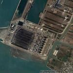 Taichung Power Plant - Largest power station in Taiwan (Google Maps)