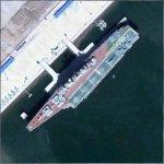 Former Russian aircraft carrier Kiev (Google Maps)
