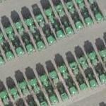 Tractors & Stacks of Tires at John Deere Werke (Google Maps)