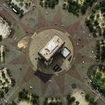 Arc de Triomphe (Google Maps)