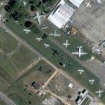 Planes on Display (Google Maps)
