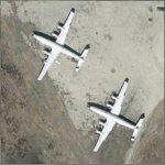 L1649A Super Constellation Starliners (Google Maps)