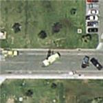Two car accident with fire engine and tow truck (Google Maps)