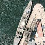 Australian multi-product replenishment oiler HMAS Success (AOR 304) (Google Maps)