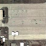 A-10s at CT National Guard (BDL) (Google Maps)