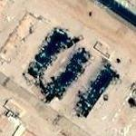 Why is there bomb damage at this Saudi facility?