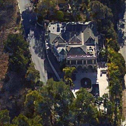 Home Pics: Alyssa Milano's House (former) In Los Angeles, CA (Google