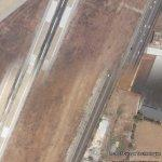 Airstrip and Highway Mismatch (Google Maps)