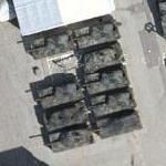 Leopard 2 tanks at Krauss-Maffei Wegmann Group tank plant (Google Maps)