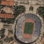 National Stadium, Chile (Google Maps)
