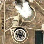 Power plant water cooling tower (Google Maps)