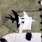 "A-7D ""Corsair"" (Google Maps)"