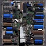 Post Katrina plastic roofs (Google Maps)