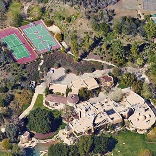 Will smith 39 s house in calabasas ca virtual globetrotting for Maison will smith