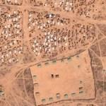 Darfur refugee camp Djabal (Google Maps)