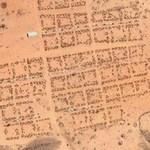 Darfur refugee camp Farchana (Google Maps)