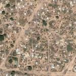 Darfur refugee camp Goz Amer (Google Maps)