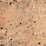 Darfur refugee camp Mille (Google Maps)
